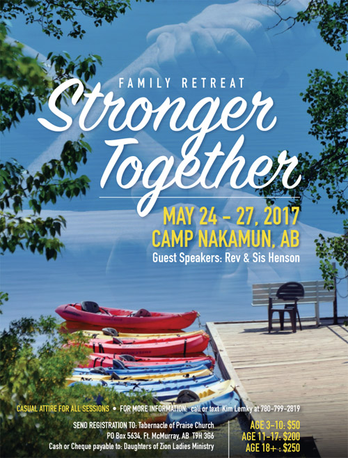 Stronger Together Family Retreat